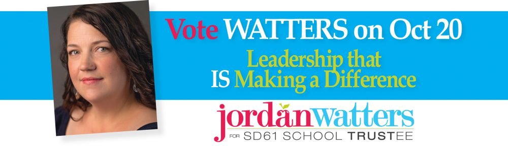Vote Watters for Trustee